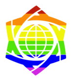 World Congress of GLBT Jews: Keshet Ga'avah Logo